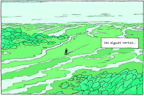 Les algues vertes dégageraient, en se décomposant, un poison aussi radical que le cyanure. (Illustration: Éditions Delcourt)