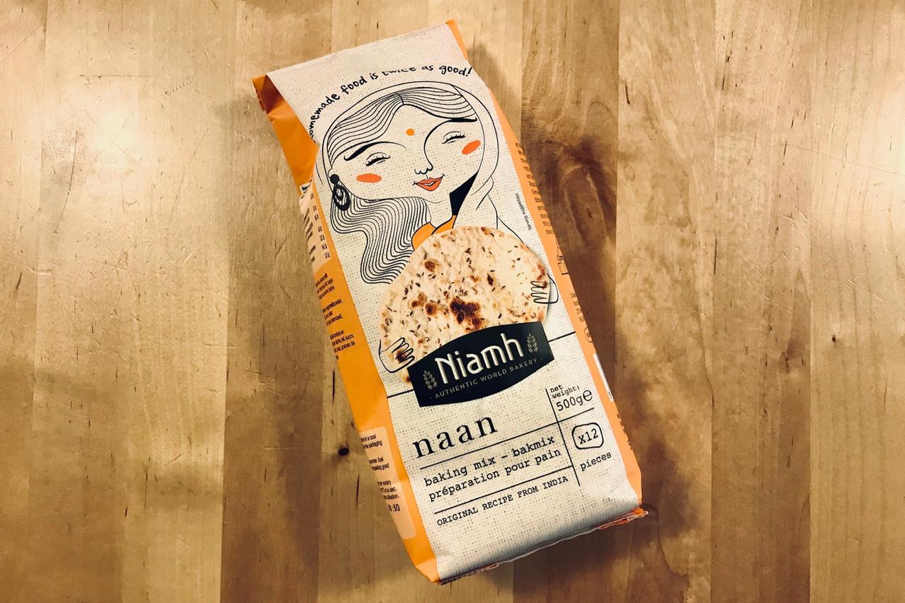 Une bonne farine pour faire des naans faciles, c'est chez Delhaize et on ne s'en plaint pas! (Photo: Maison Moderne)