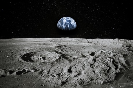 La Nasa va accélérer la quête des ressources de l'espace: d'ici 2024, elle aura acheté des bouts de la Lune à des entreprises, au préalable qualifiées pour l'aventure, quand elles les ramèneront sur Terre. (Photo: Shutterstock)