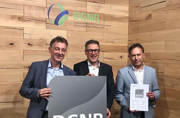 Les développeurs de Nei Hollerich ont reçu une pré-certification DGNB Platine. (Photo: Nei Hollerich)