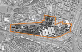 Nei Hollerich se déploie sur un ancien site industriel situé dans Luxembourg. ((Illustration: GIE Nei Hollerich))