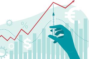 Les lenteurs des campagnes vaccinales et les mutations de la Covid pèsent sur le moral des investisseurs (Photo: Shutterstock)