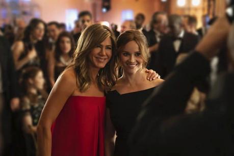 La firme de Cupertino compte beaucoup sur le tandem Jennifer Aniston-Reese Whiterspoon et leur Morning Show pour doper l'audience de l'Apple TV. (Photo: Apple)