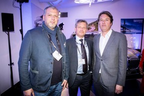 Pietro Marchione (Groupe Marchione), Patrice Silverio (Eurogroup Consulting) et Laurent Goffin (Maison Moderne) ((Photo: Jan Hanrion/Maison Moderne))