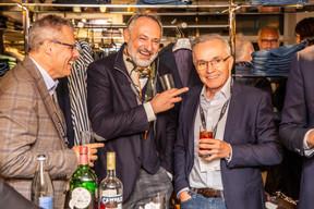 Bruno Pagliuca (Ofead Advisory), Enrico Mela (Bellatrix) et Luc Biever  (TNS Ilres) ((Photo: Jan Hanrion/Maison Moderne))