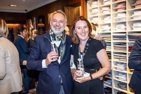 Enrico Mela (Bellatrix) et Andrea Jagicza (JAD) ((Photo: Jan Hanrion/Maison Moderne))
