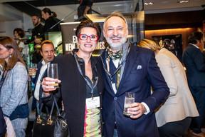 Nathalie Cravatte (NC Coaching) et Enrico Mela (Bellatrix) ((Photo: Jan Hanrion/Maison Moderne))