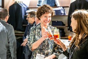 Claudia Eustergerling (Claudia Eustergerling Design) et Alicia Graas (Autodis) ((Photo: Jan Hanrion/Maison Moderne))