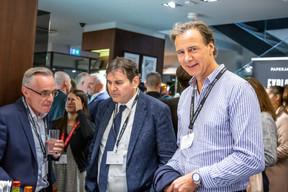 Luc Biever  (TNS Ilres), Alain Lorang (Etude Lorang) et Bernard Weber (Laboratoires Réunis Luxembourg) ((Photo: Jan Hanrion/Maison Moderne))