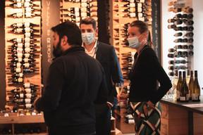 Robin Moura Seabra (Natixis),  Laurence Nogues (Natixis) ((Photo: Leo Biewer/Maison Moderne))
