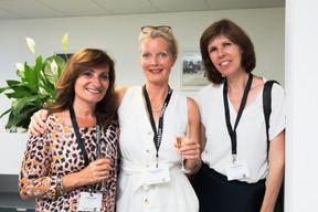 Catherine Papp (Key-Way), Marianne Van Den Eerenbeemt (Livinlux) et Susanne Arend (Change Focus) ((Photo: Patricia Pitsch/Maison Moderne))