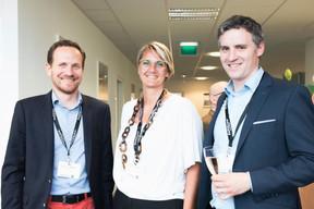 Stéphane Compain (LuxRelo), Caroline Lamboley (Lamboley Executive Search) et Julien Hugo (Prodware Luxembourg) ((Photo: Patricia Pitsch/Maison Moderne))