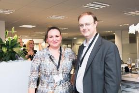 Larissa Thomma (Enjoy Immobilière) et Jean-Paul Gaumet (Management & Strategy Advisory) ((Photo: Patricia Pitsch/Maison Moderne))