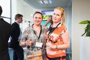 Larissa Thomma (Enjoy Immobilière) et Linna Karklina (LK Real Estate) ((Photo: Patricia Pitsch/Maison Moderne))