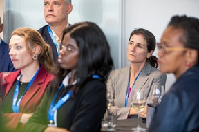 Robin Jensen (Birdee), Fatoumata Fofana (INFPC), Elisa Jensen (PwC), Murielle John (Rcarré) ((Photo: Jan Hanrion / Maison Moderne))