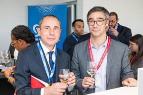 Jean-Marc Verhaeghe (AIMS Luxembourg), Julien Delpy (Maison Moderne) ((Photo: Jan Hanrion / Maison Moderne))