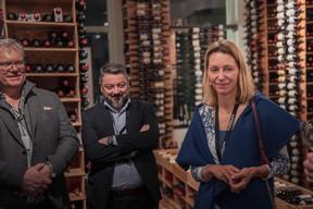 Paul Dockx (Presta-Gaz), José Apolinario (Calligo Luxembourg) et Florence Bastin (Fiduciaire du Grand-Duché de Luxembourg) ((Photo: Jan Hanrion /Maison Moderne))