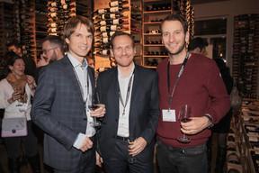 Matthias May (Engel & Volkers), Stéphane Compain (LuxRelo) et Eric Durand (Alma Solar) ((Photo: Jan Hanrion /Maison Moderne))