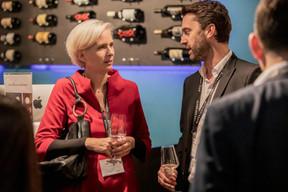 Karine Bellony (VAT Solutions) et Daniel Liebermann (Ministère de l'Économie) ((Photo: Jan Hanrion/Maison Moderne))