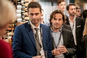 Alessandro Zoino et Raffaello Casati (Deutsche Bank Wealth Management) ((Photo: Jan Hanrion/Maison Moderne))
