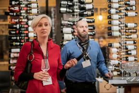 Karine Bellony et Michael Lambert (VAT Solutions) ((Photo: Jan Hanrion/Maison Moderne))