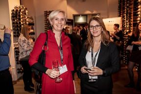 Karine Bellony (VAT Solutions) et Lucile Rahn (Natixis Life) ((Photo: Jan Hanrion/Maison Moderne))