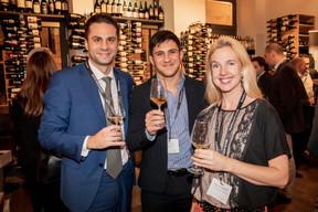 Alessandro Zoino, Antonio Cau et Ulrica Hilmersson (Deutsche Bank Luxembourg) ((Photo: Jan Hanrion/Maison Moderne))