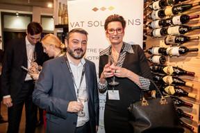 José Apolinario (Calligo) et Nathalie Cravatte (NC Consulting) ((Photo: Jan Hanrion/Maison Moderne))
