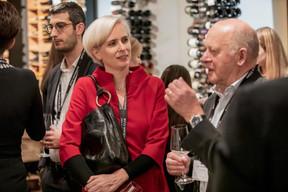 Karine Bellony (VAT Solutions) et Lucien Schummer (Ancien vice-président de Cargolux) ((Photo: Jan Hanrion/Maison Moderne))