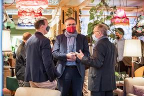 Yaniss Levron (Change digital), Stephane Pesch (LPEA) et Jean-Jacques Boulanger (Tertia Conseil) ((Photo: Jan Hanrion / Maison Moderne))