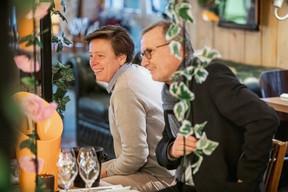 Gaëtane Meilleur (AIBM) et Jean-Jacques Boulanger (Tertia Conseil) ((Photo: Jan Hanrion / Maison Moderne))