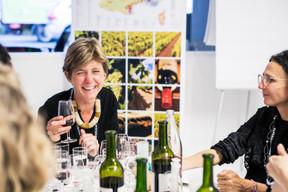 Alix Bourgeais (Banque de Luxembourg) et Raphaele Cardon (Coach indépendante en développement professionnel) ((Photo: Jan Hanrion / Maison Moderne))
