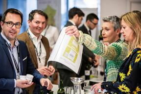 Claude Rodisio (Talent Attitude), François Henryon (CRH-Lux), Alexandra Goosse (MDO Management Company) et Annette Boehm (EY Luxembourg) ((Photo: Jan Hanrion / Maison Moderne))