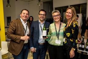 François Henryon (CRH-Lux), Claude Rodisio (Talent Attitude), Alexandra Goosse (MDO Management Company) et Annette Boehm (EY Luxembourg) ((Photo: Jan Hanrion / Maison Moderne))