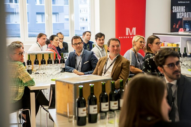 Networking Circle - Wine Making Academy - 11.04.2019 (Photo: Jan Hanrion / Maison Moderne)