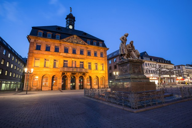 Hanau, ville de naissance des frères Grimm, est fréquentée par les touristes et éloignée d'une vingtaine de kilomètres de Francfort. (Photo: Shutterstock)