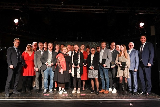 Le ministre du Tourisme, Lex Delles (DP), a récompensé plusieurs professionnels du tourisme ayant réussi à mettre en place un projet novateur entre 2018 et 2020, et ainsi contribué à diversifier l'offre touristique. (Photo: Marie De Decker/SIP)