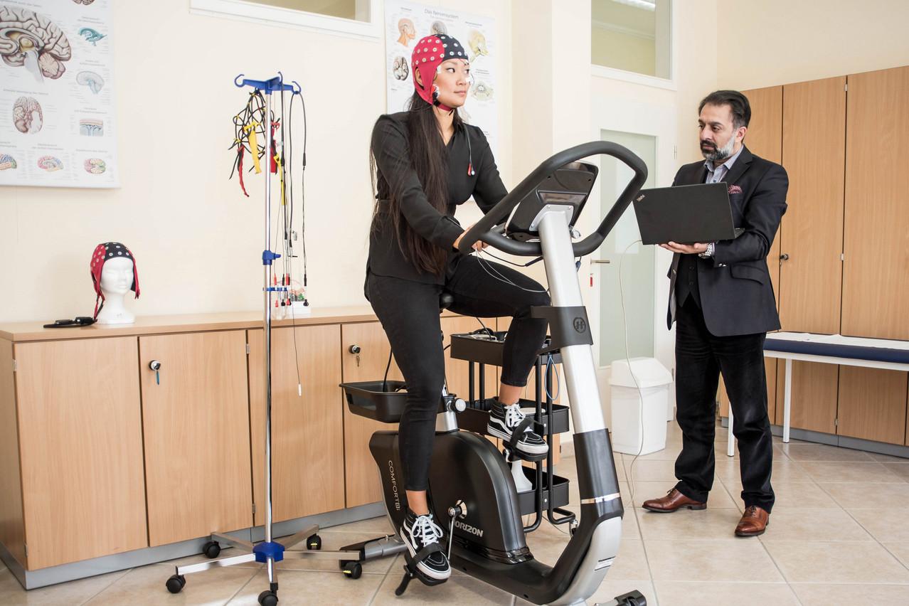 Des tests psychométriques, ou même des électroencéphalogrammes, permettent à l'équipe de déterminer face à quel problème se trouve confrontée une personne, et dans quelle proportion. (Photo: DR)