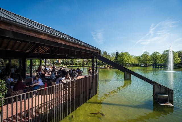 Au cœur du parc de Merl, le Pavillon offre un cadre séduisant pour petits et grands. (Photo: Mike Zenari / archives)