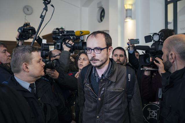 Les eurodéputés réitèrent leur soutien à Antoine Deltour, récipiendaire du Prix du citoyen européen en 2015, alors que le procès en appel contre les deux lanceurs d'alerte se tiendra à la fin de l'année. (Photo: Sven Becker / Archives)