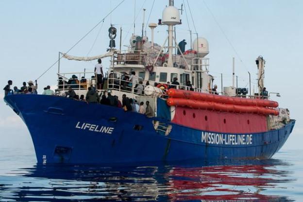 Le Lifeline a accosté à Malte fin juin avec 235 migrants à bord. (Photo: Licence C. C.)