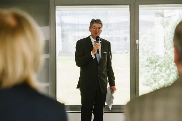 Pierre Bley, président du conseil d'administration de l'Œuvre nationale de secours Grande-Duchesse Charlotte Photo: Sven Becker/archives)
