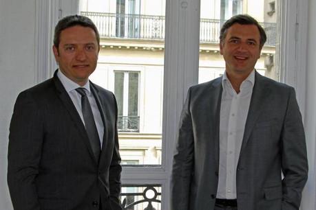 David Gray et Marc Le Vernoy célèbrent les 20 ans de Numen au Luxembourg.  (Photo:Numen)