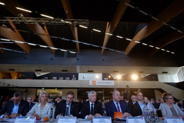Pour le CSV, réuni en congrès national samedi à Ettelbruck, les élections communales doivent être un tremplin pour les législatives. (Photo: Sébastien Goossens)