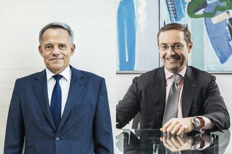 Guy Hoffmann, président de l'ABBL, et Keith O'Donnell, managing partner d'Atoz. (Photo: Maison Moderne)