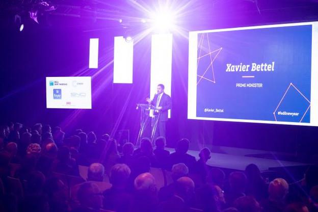 Xavier Bettel: «Nous allons fédérer l'écosystème des compétences, par exemple en soutenant des cours en la matière, dans une perspective d'upskilling, mais aussi de recherche.» (Photo: Nader Ghavami)