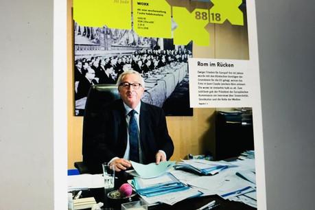 Jean-Claude Juncker a rapidement accepté la demande d'interview pour ce numéro spécial. (Photo: DR)