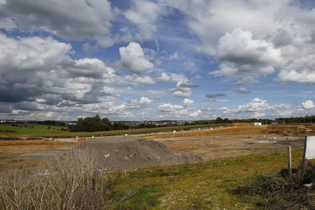 Projet central du développement du Ban de Gasperich, Auchan et ses satellites, poussés par un consortium, bénéficient d'un coup de boost. ( Photo : Olivier Minaire / archives )
