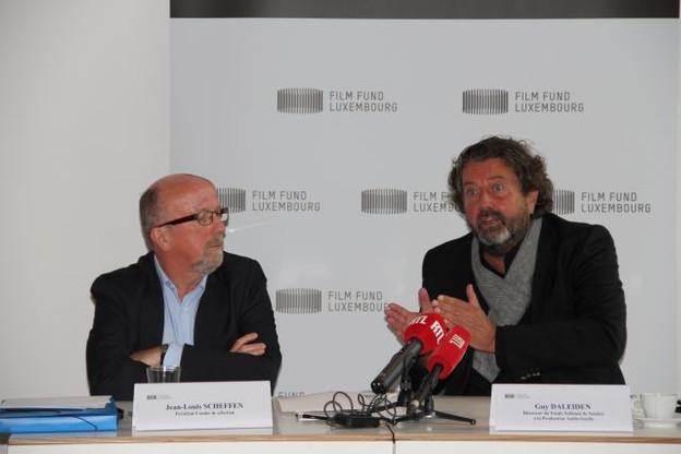 De gauche à droite: Jean-Louis Scheffen, président du comité de sélection du fonds, et Guy Daleiden, directeur du Fonds national de soutien à la production audiovisuelle. (Photo: Film Fund Luxembourg)