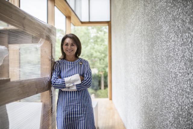 Florence Reckinger, présidente des Amis des musées, met en évidence les avantages des membres de l'association. (Photo: Maison Moderne)